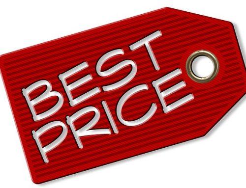 I nostri prezzi: cosa c'è sotto?